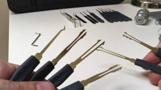 (005) Beginner tools and tips for picking wafer locks