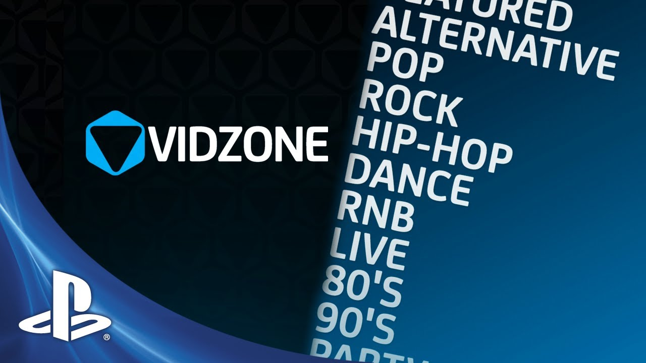 VidZone: Free Music Video App on PS3 Today, Take the Tour