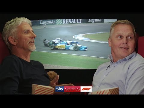 Image: Watch: Johnny Herbet and Damon Hill go back to the 1995 British Grand Prix