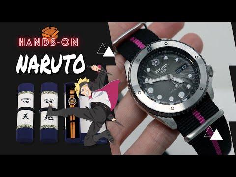 SEIKO 5 SPORTS NARUTO & BORUTO BORUTO UZUMAKI LIMITED EDITION SRPF65K1