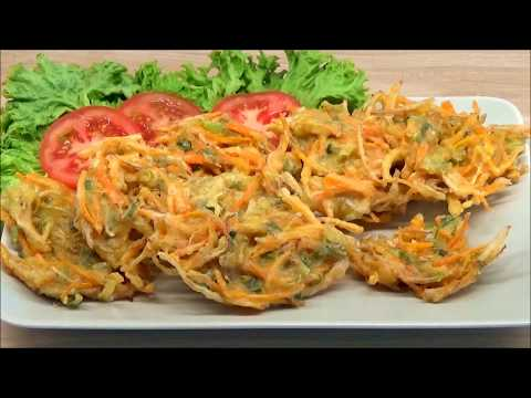 Cara Membuat Bakwan Sayur Gurih Dan Kriuk (How To Make Crunchy Vegetable Fritters)