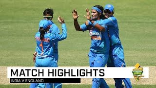 Kaur guides India to final-over win   CommBank T20 INTL Tri-Series