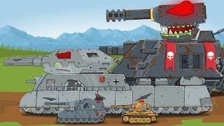 Топ серии про ЗОМБИ Мультики про танки