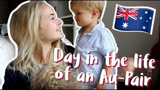A day in the life of an Au-Pair    WORKING WEEKEND