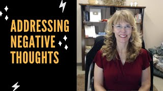 Cognitive Behavioral Therapy  Addressing Negative Thoughts With Dr. Dawn-Elise Snipes