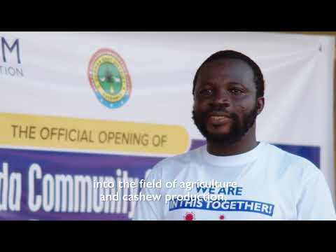 Ghana : a Gari Factory for the Benefit of Returnees and their Communities amid COVID-19