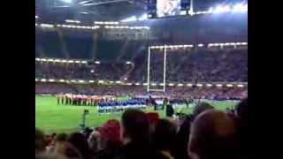 Anthem, Wales V Samoa 2009..