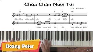 Hướng dẫn đệm Piano: Chúa Chăn Nuôi Tôi - Hoàng Peter