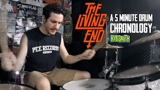 The Living End: A 5 Minute Drum Chronology - Kye Smith [4K]