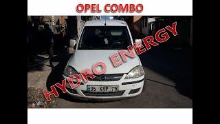 Opel Combo dizel hidrojen yakıt sistem montajı