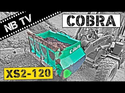 COBRA XS 2-120 | Schaufelseparator | Siebschaufel | Sieblöffel
