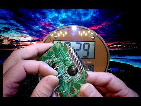 Спешат электронные часы, вариант лечения и установка LiIon аккумулятора