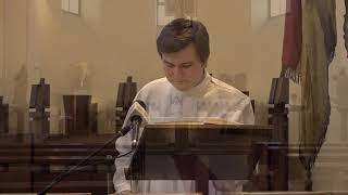 Katolikus szentmise / TV Szentendre / 2020. 04. 09.