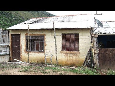 Veja como vivem moradores que ocupam casas populares inacabadas em Friburgo