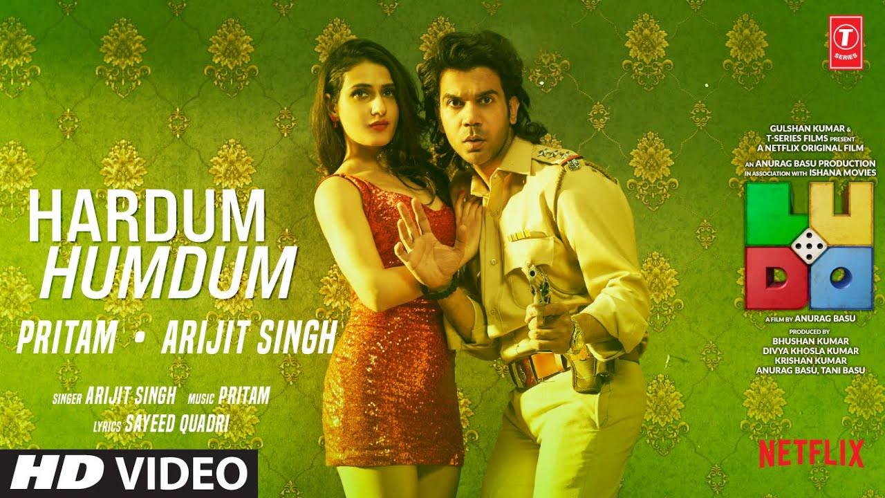 Hardum Humdum lyrics - LUDO Full Song Lyrics | Arijit, Pritam, Sayeed - Lyricworld