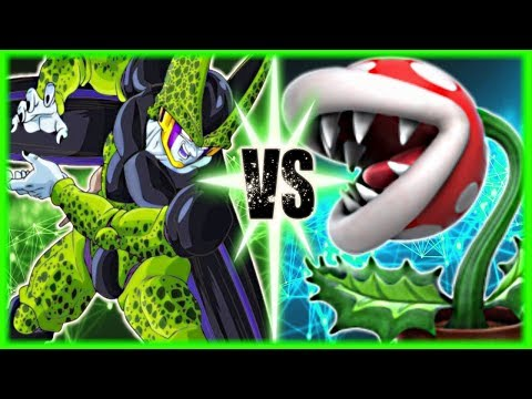Perfect Cell Vs Piranha Plant (Ft.RhymeStyle)
