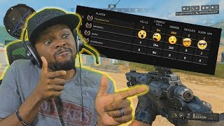MY BEST GAME BY FAR!!! My First Squad Match - COD Blackout Squad Gameplay