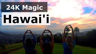 24K Magic Hawai'i   Tribute Music Video To Bruno Mars (24K Magic)