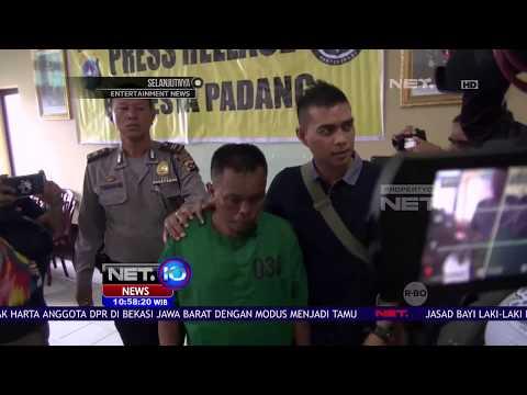 Di Padang Sumbar, Seorang Ayah Tiri Tega Menyiksa Dan Menyuruh Anak Mengemis  - NET 10