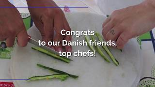 Our Danish friends, as top chefs!