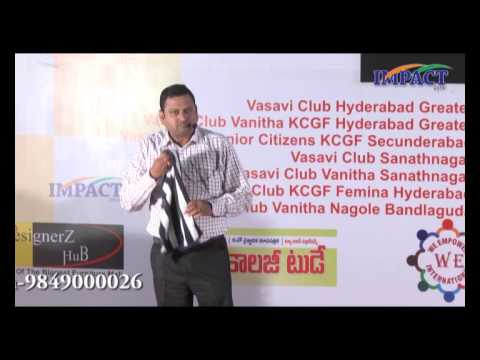 Fail | JVC Sreeram  | TELUGU IMPACT Hyd 2014
