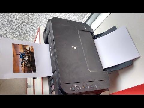 Print Testing of Canon Pixma G2000 Color Printer (Standard