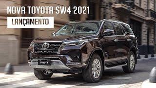 Nova Toyota SW4 2021 - Lançamento