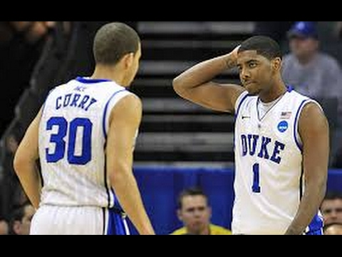 Stephen Curry vs Kyrie Irving At College!