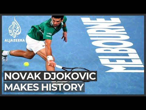 Tennis: Djokovic talks to Al Jazeera after historic win