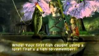 The Legend of Zelda: Twilight Princess - Fishing Special!