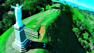 Jerico,Colombia, from the air FPV