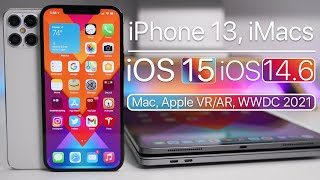 iPhone 13, New iMac, iOS 15, iOS 14.6 Release, WWDC 2021 and more