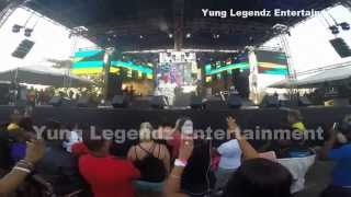 LADY SAW PERFORMING LIVE AT REGGAE SUMFEST 2015
