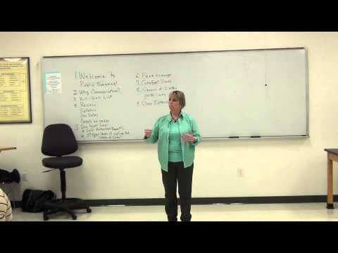 Lecture on Introduction to Fear, Public Speaking & Communication Courses