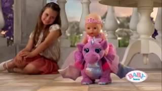 Интерактивный Дракончик для Baby Born Беби Борн аксессуар 822456 от компании baby born - видео