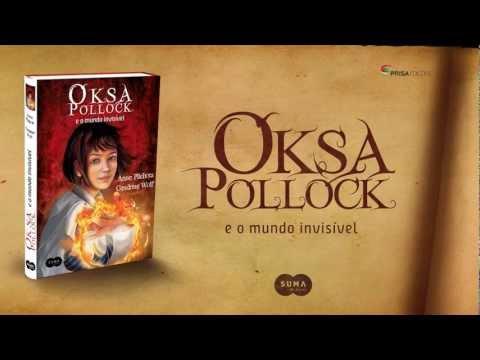 Oksa Pollock e o mundo invis�vel - Booktrailer