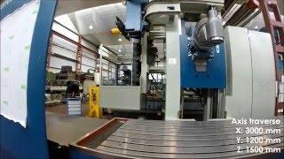 Refurbished milling machine Correa A30/30 by NC Service