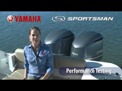 Detail image of Sportsman Boats & Yamaha Outboards - Performance Testing