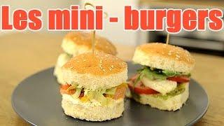 La Recette Des Meilleurs Mini-burgers