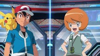 Pokémon Battle USUM: Ash Vs Trevor (Kalos League Battle)