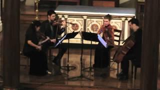"""""""Oleajes (Waves)"""" for String Quartet, Alba Potes, Las Américas en Concierto, NY"""