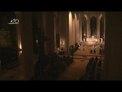 Vêpres et messe du 14 janvier 2017