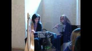 Matrimonio Flauto e Arpa Celtica- Duo Dulcimer & Ensemble musica per matrimoni