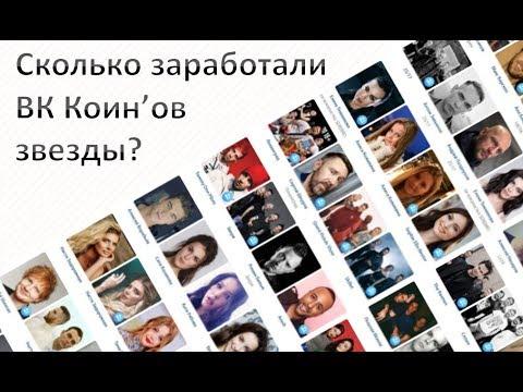 Сколько заработал Гуф, Тимати, FACE, Feduk, Монеточка и другие ВК Коин'ов за 10 дней ч.1
