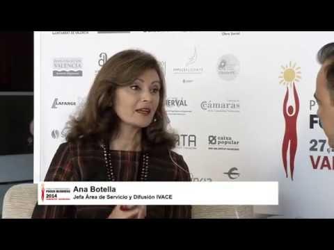 Entrevista a Ana Botella en el #DPECV2014