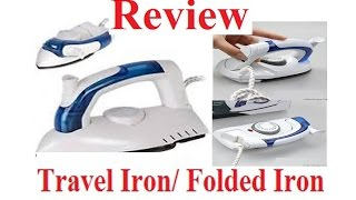 Mini Portable Electric Foldable Travel Iron for Clothes. Travel Steamer Steam Iron and Deodorizer