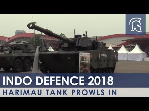 Harimau Tank Prowls In - Shephard Media - Video - Musicuda