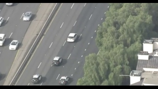 Los Angeles Police Chase Feb 8 2017