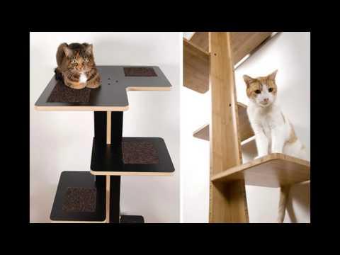 Ideas modernas de diseño de muebles para gatos