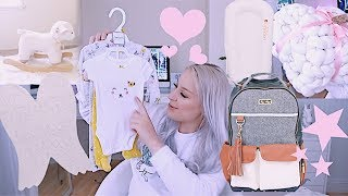INSANELY CUTE BABY GIRL HAUL | CLOTHES BABY GEAR TOYS